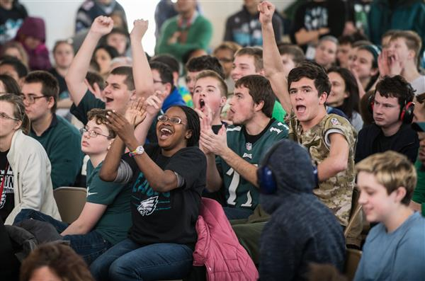 The Vanguard School Hosts Eagles Pep Rally