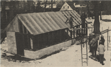 Construction of the Greenhouse in 1978